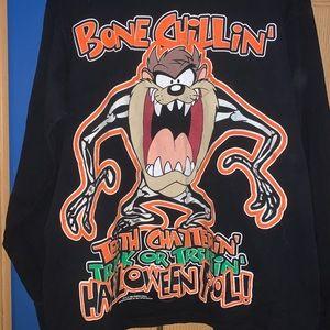 Looney tones long sleeve Halloween shirt